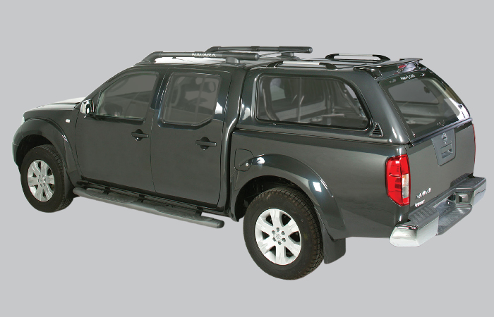 Nissan Navara DC & Nissan Canopies - Canopy Choices